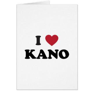 I Heart Kano Nigeria Greeting Card