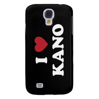 I Heart Kano Nigeria Samsung Galaxy S4 Cover