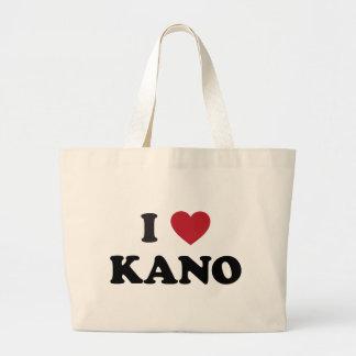 I Heart Kano Nigeria Jumbo Tote Bag