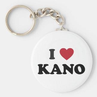 I Heart Kano Nigeria Key Chain