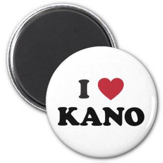 I Heart Kano Nigeria Magnets