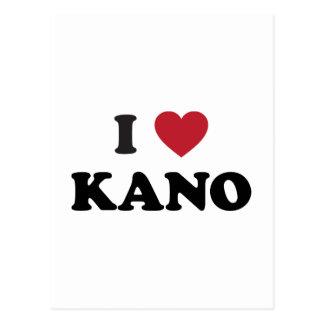 I Heart Kano Nigeria Postcard