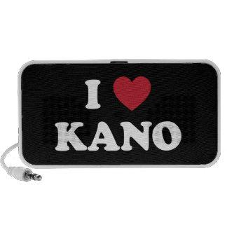 I Heart Kano Nigeria Portable Speaker