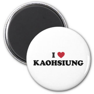 I Heart Kaohsiung Taiwan 6 Cm Round Magnet