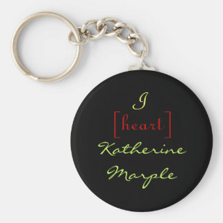 I [heart] Katherine Marple Key Ring