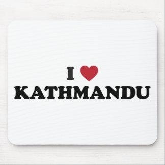 I Heart kathmandu Nepal Mouse Pad