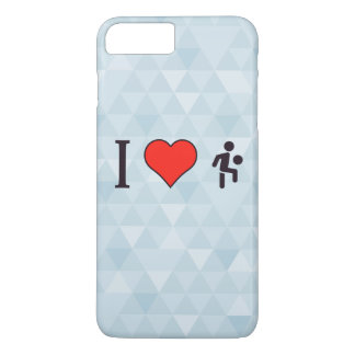 I Heart Kicking Ball With The Knee iPhone 7 Plus Case