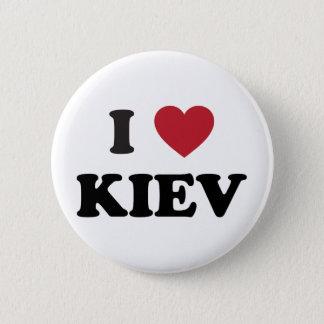 I Heart Kiev Ukraine 6 Cm Round Badge