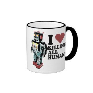 I Heart Killing All Humans Mug