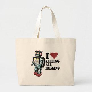 I Heart Killing All Humans Bag