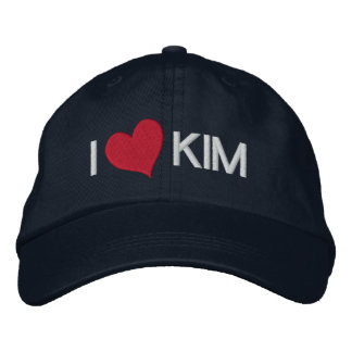 I Heart KIM Embroidered Hat