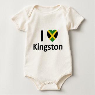 I heart Kingston (Jamaica) Baby Bodysuit