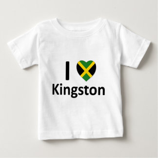 I heart Kingston (Jamaica) Baby T-Shirt