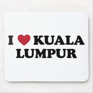 I Heart Kuala Lumpur Malaysia Mouse Pad
