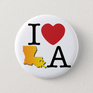 I Heart LA 6 Cm Round Badge