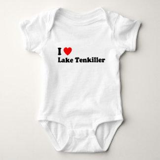 I Heart Lake Tenkiller Baby Bodysuit