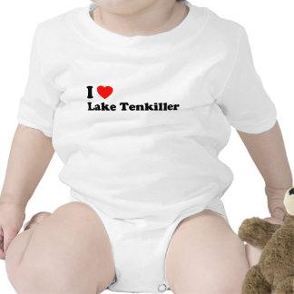 I Heart Lake Tenkiller Romper