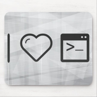 I Heart Large Consoles Mouse Pad