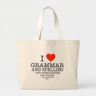 I Heart Large Tote Bag