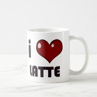I Heart Latte Mug