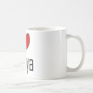 I Heart Libya Basic White Mug