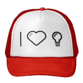 I Heart Lightbulbs Cap