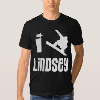 I Heart Lindsey Art Tee T-Shirt