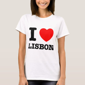 I Heart Lisbon T-Shirt