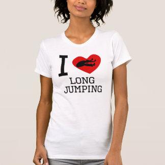 I Heart Long Jumping Tshirts