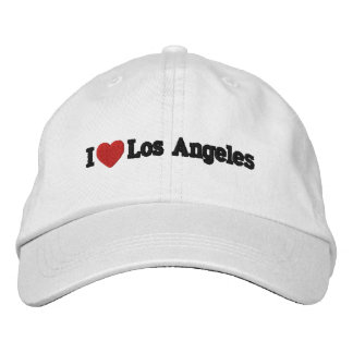 I Heart Los Angeles Embroidered Hat