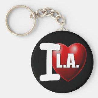 I Heart Los Angeles - I Love LA Keychains