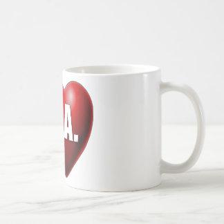 I Heart Los Angeles - I Love LA Coffee Mugs