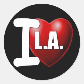 I Heart Los Angeles - I Love LA Sticker
