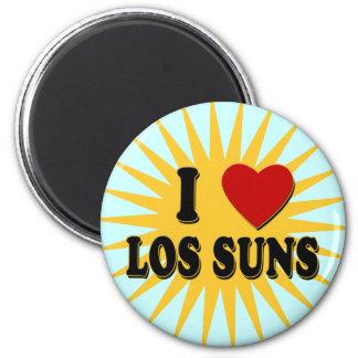 I Heart Los Suns I Love Los Suns Tshirts Refrigerator Magnet