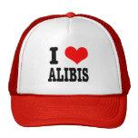 I HEART (LOVE) ALIBIS HATS