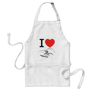 I Heart (Love) Anal Standard Apron
