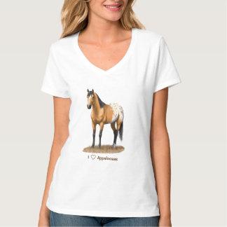 I Heart (Love) Appaloosa Horses T-Shirt