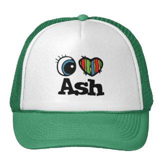 I Heart (Love) Ash Trucker Hat