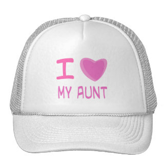 I Heart Love aunt Hat