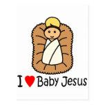 I Heart (Love) Baby Jesus Postcards
