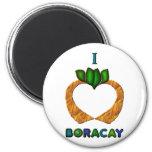 I Heart (Love) Boracay Refrigerator Magnet