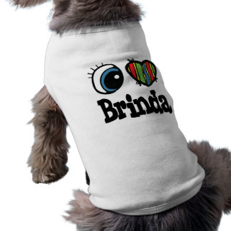 I Heart (Love) Brinda Sleeveless Dog Shirt