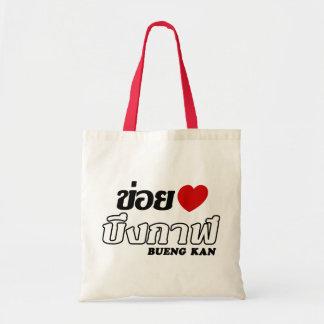 I Heart (Love) Bueng Kan, Isan, Thailand Tote Bag