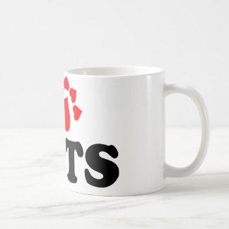 I Heart (Love) Cats Coffee Mug