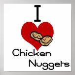 I heart-love chicken nuggets