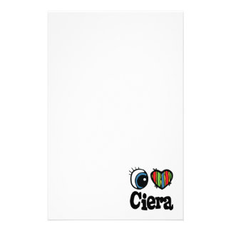 I Heart (Love) Ciera Stationery