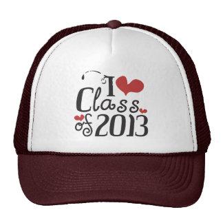 I heart (love) Class of 2013 Mesh Hats