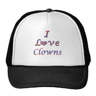 I Heart (Love) Clowns  Hats