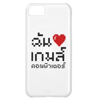 I Heart Love Computer Games ♦ Thai Language iPhone 5C Covers