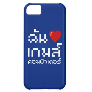 I Heart Love Computer Games ♦ Thai Language iPhone 5C Cases